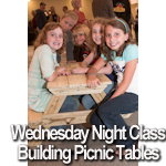 Building Picnic Tables