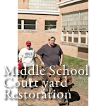 Watkins Middle School Courtyard Restoration